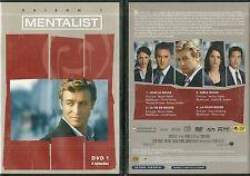DVD - MENTALIST avec SIMON BAKER / DVD 1, 4 EPISODES