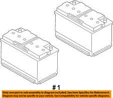 FORD OEM-Battery BXT48H6610