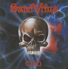 SAINT VITUS-C.O.D. + 2 BNS TCK-CD-doom-stoner-metal-count raven-cathedral