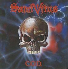 SAINT VITUS-C.O.D. + 2 BNS TCK-CD-doom-stoner-metal-count raven-cathedral