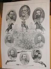 """Confederate Heroe's Print by Tony Biagi 22"""" x 30 1/2"""", #54 of 1000"""