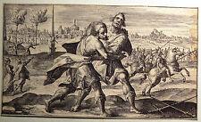 Crispin De Passe Crispijn Van De Passe Les XXIIII Livres d'Homère 1613 Livre 23
