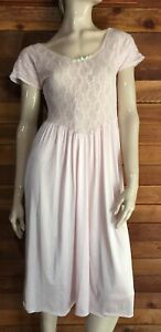 VINTAGE PINK SIZE SMALL NIGHTGOWN   #10244