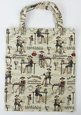 Tapestry Eco Tote Carry Bag Elegant Lady Design Signare