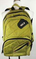 Ful Green Backpack Travel Books Laptop Audio Port Comfort Straps