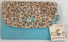 NICI -Portafoglio leopardo - interno con vari scomparti e portamonete - cm.16x11