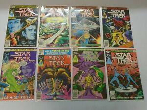 Star Trek lot 16 different from #1-18 avg 5.0 VG FN (1982-82 Marvel series)