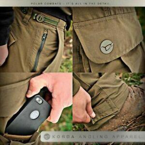 NEW Korda Kore Polar Kombats Cargo Trousers Dark Olive All sizes - Carp Fishing