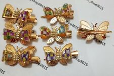 New Woman Hair Clip Claw Glitter Shiny Clamp Grip Butterfly/Fish Clutcher,