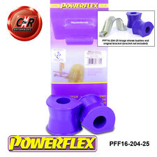 Citroen Evasion Synergie 94-02 Powerflex FrARB To Chass Bushes 25mm PFF16-204-25