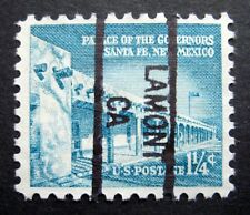 Sc # 1031A ~ 1 1/4 cent Liberty Issue, Precancel, LAMONT CA