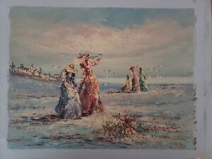 Marie Charlot Original Oil on Canvas
