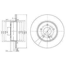 2X BRAKE DISC DELPHI BG3602