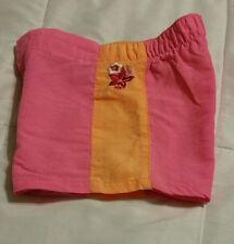Girls Shorts Mickey & Co Size 5 Pink and Tangerine