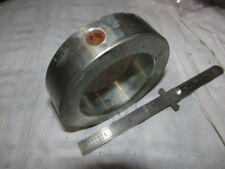 "2-9/16"" SHAFT SOLID STEEL ZINC PLATED SET SCREW COLLAR"