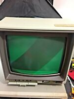 Vintage Zenith Data Systems Monitor ZVM-123-A  Powers On AS IS