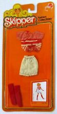 1980 Skipper, Sister of Barbie, Fashion Collectibles Red and Cream Shorts Ense.