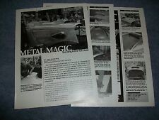 2002 How-To Tech Info Article on Building Custom Hood for '33-'34 Ford