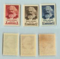 Russia USSR 1958 SC 2056-2058 Z 2058-2060 MNH. rtb2183