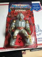 Vintage He-Man MOTU Extendar Complete figure with red shield 1986