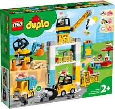 10933 LEGO Duplo Tower Crane & Construction Set 123 Pieces Toddler Age 2+