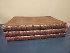 "1728 -3 Volume Elephant Folio - Bible in Dutch  - "" 210""   Beautiful  Engravings"