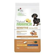 Natural Sensitive No Gluten Small & Toy Adult Con Salmone - Trainer