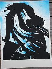 CHRISTOFOROU John - Lithographie signée numérotée le cavalier bleu /