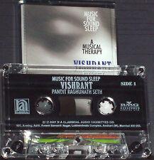 RAGHUNATH SETH VISHRANT MUSIC FOR SOUND SLEEP CASSETTE INDIAN ESP. FOR 40+ AGE