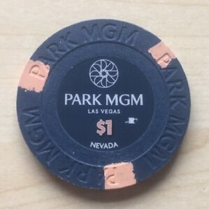 PARK MGM CASINO LAS VEGAS $1 HOUSE CHIP FIRST EDITION