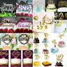 Creative Happy Birthday Number 0-9 Cake Candles Topper Decoration Party Supplies