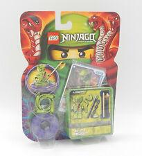 98348 NEUWARE LEGO Ninjago 3 x Schleuder Schlange neon gelb für Spinner a7