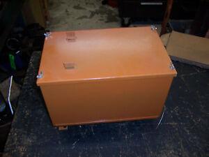 AC ALLIS CHALMERS WD/WD45 DIESEL BATTERY BOX NEW REPOD