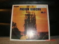 Recuerdos 33009 Various Artists - Coleccion De Oro Pasion Gaucha Vol: 3 1970's