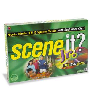 JUNIOR SCENE IT Kids Childrens Trivia DVD Board Game Jr Pop Culture Family NEW