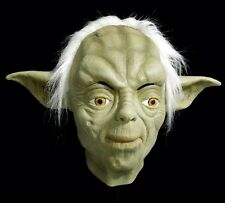 DELUXE Latex Green Yoda Mask Space Movie Quality Fancy Party Costume Wars