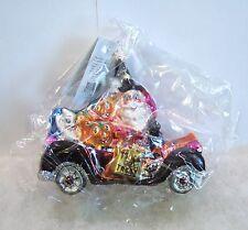 Radko Ornament Scream Team 01-1083-0 Halloween Car Ghost Cat NIB/SEALED (R22)