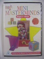 Mozart 4 Bebés Mini masterminds formas y colores DVD Region Free - NUEVO