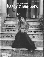 KASEY CHAMBERS - Selections From PVG Book *NEW* Piano Vocal Guitar Music Captain