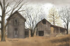 Art Print, Framed, Plaque By Billy Jacobs - Forgotten Homestead - BJ146A
