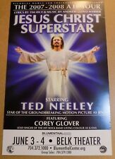 Jesus Christ Superstar Ted Neeley Corey Glover 14 x 22 Broadway Show Window Card