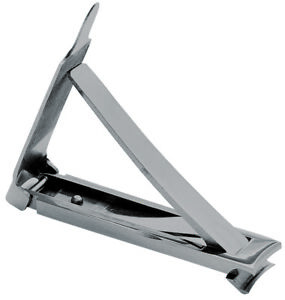 Erbe Solingen Becker-Manicure Nail Clipper Small Stainless Steel Extra Flat