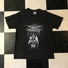 t shirt REPRINT untru vtg *Dark-Throne as wolfs among sheep soulside Rare 1990s