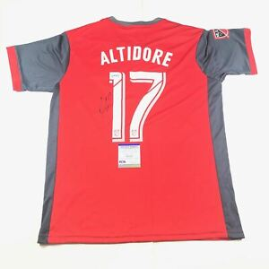 Jozy Altidore signed Jersey PSA/DNA Toronto FC autographed