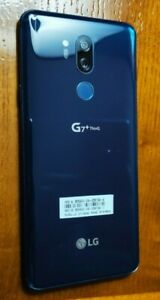 LG G7+ THINQ 128GB UNMARKED EXCELLENT CONDITION  NEW MOROCCAN BLUE ANDROID 10