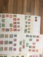 British Commonwealth colonies QV -QE 25 leaves lot 1aa 44