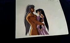 Dark Schneider  & Yoko BASTARD Anime Production Cel ~ Ray Rohr Cosmic Artifacts