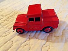 Dinky Toys-255-LAND ROVER-MERSEY Tunnel-Police rouge