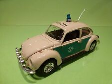 MEBETOYS 8587 VW VOLKSWAGEN BEETLE MAGGIOLONE - POLIZEI POLICE - RARE 1:25 - GC