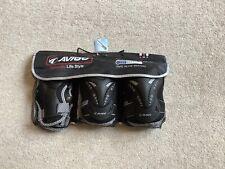 Avigo Protective 3 Pack Coolmax Skating Pads For Knees,wrists & Elbows Size Med